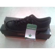 Zapatos Converse Negros Talla 38