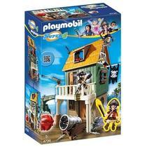 Playmobil Fuerte Pirata Camuflado Con Ruby Art.4796