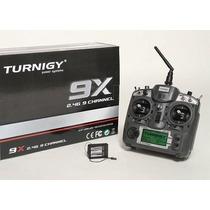 Rádio Controle Turnigy 9x V2 Com Receptor - Pronta Entrega