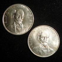 Moneda 25 Centavos 1966 Pico Cerrado Brillo Bu