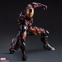 Iron Man Marvel Figura De Accion Play Arts Kai