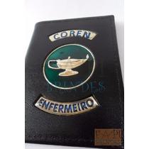 Porta Funcional Documentos Coren Enfermeiro Enfermagem P03p