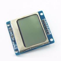 Display Lcd Nokia 5110 Grafico Arduino Pic Placa Azul
