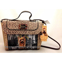 Bolsa Feminina Cachorro York City Onchinha Original Rafitthy