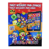 Tablet Infantil Do Patati Patatá 9 Polegadas Educativo
