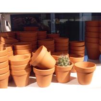 Macetas Macetitas Barro Numero 7 Pack X30u Cactus Souvenirs