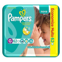 Fralda Pampers Total Confort Super G 248 Tiras