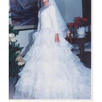 Vestido De Novia , Bellisimo ,italiano, Usado