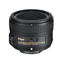 Lente 50mm F/1.8g Af-s Nikkor Dx Para Nikon D Reflex Slr