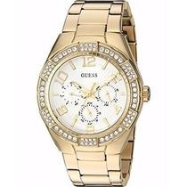 Guess - Reloj Analógico Mujer U0729l2 - Dorado