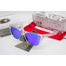 Gafas Oakley Frogskins Polished Clear Violet Iridium