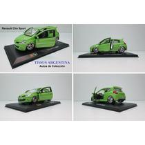 Autito De Colección Renault Clio Sport Auto Tissus Arg