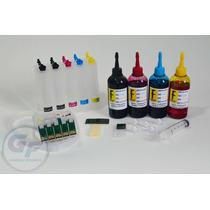 Bulk Ink P/ Epson T33 T1110 + 500ml De Tinta Corante Formula