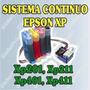 Sistema Tinta Epson Xp201, Xp211, Xp401, Xp411 + Tintas