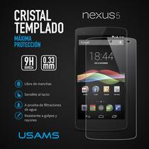 Mica Protector De Cristal Templado Lg Google Nexus 5
