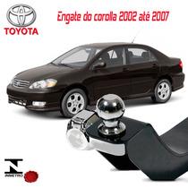 Engate Reboque Corolla 2002 2003 2004 2005 2006 2007