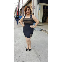 Vestido Em Tecido Malha Otomani Tamanhos P M G Plus Size