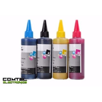 Tintas Epson Negro Colores 100ml Compatible Sistema Continuo