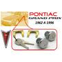 62-96 Pontiac Grand Prix Chapas Para Puertas Llaves Cromadas