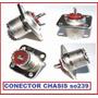 Conector So239 Hembra Pl259 Chasis Radio Hf Vhf Uh Baquelita
