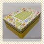 Caja Lata Con Diseños Decorativos