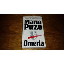 Omerta - Mario Puzo - Autor De O Poderoso Chefão Livro