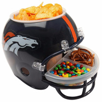 Casco Nfl Americano Broncos Denver Botanero Envío Gratis