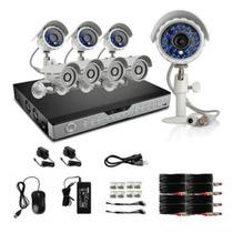Kit Camaras Seguridad Dvr 16 Canales 8 Cam Zmodo Disco Duro