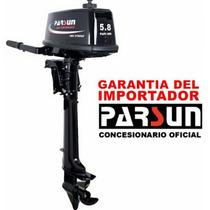 Motor Fuera De Borda Parsun 5,8 Hp 2 T Nuevo - En Caja !!!