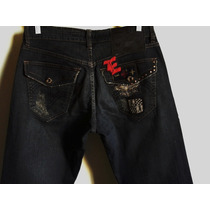 Calça Jeans Feminina Ellus Nova / Modelo Fashion Tm 42