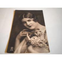 Foto Postal Antigua 1927 Paris 14.5 Cms. X 8.5