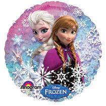 5 Globos Metalicos Ana Y Elsa De Frozen 18 Pulgadas, Fiesta