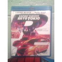 Blu Ray Rapido Y Furioso 3 Reto Tokio Acción