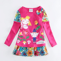 Hermosas Blusas Tipo Vestido Holly Little Kingdom Importadas