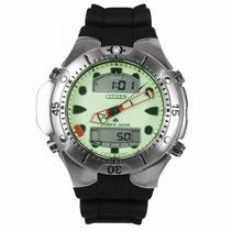 Relógio Citizen Aqualand 2 Duplex Jp1060-01w Natulite