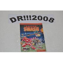 Manual Super Smash Tv Original P/ Super Nintendo!!!