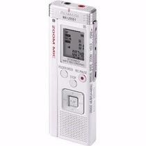 Mini Gravador Voz Digital Panasonic Microfone Zoom 70 Horas