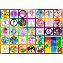 Promo 216 Stickers /candy Bar / Golosinas Personalizadas