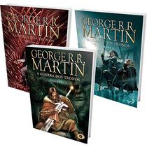Kit Livros - Coleção A Guerra Dos Tronos Hq (3 Volumes) #