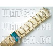 Pulseira Dourada Orient Mgss1051 Mgss1052 Mgssm007 Original!