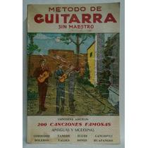 Método De Guitarra Sin Maestro No. 6, El Libro Español, 1963
