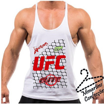 Camiseta Regata Tank Top Ufc Exclusiva Sem Juros No Cartão