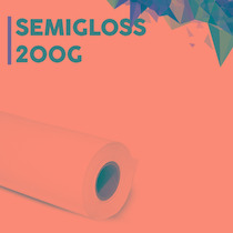 Papel Fotográfico Semigloss 250gr - 20 Folhas A4