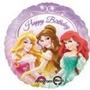 Globos Metalizados De Princesas Disney 18 Pulgadas 46 Cm