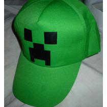 Minecraft Gorra Jockey Estampado Minecraft Creeper