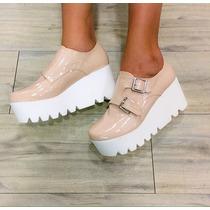 Zapato Tracksoles Mujer Moda Suelatractor Calzado Plataforma