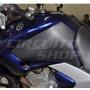 Protetor Adesivo Carbon Tanque Lateral Moto Yamaha Fazer 250