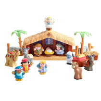 Nacimiento Navideño Navidad Infantil Little People Luz Sonid