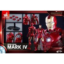 Iron Man Mark Iv 4 Hot Toys Exclusive (no Brasil) (em 12x)