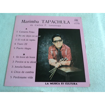 Marimba Tapachula De Carlos F. Lavariega/ Lp Envio Gratis Dh